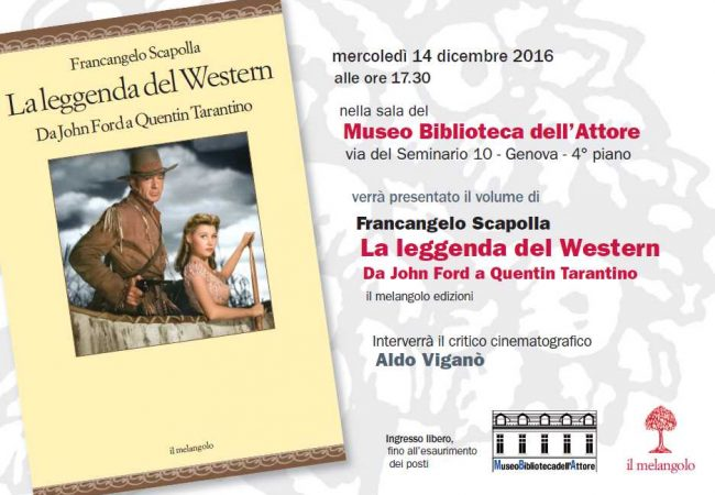 """Presentazione """"La Leggenda del Western"""" di Francangelo Scapolla"""